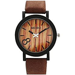 Watch, Tonwalk Neutral Simple Fashion Leather Quartz Wrist Watch