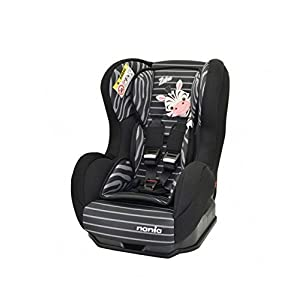 Nania Cosmo Group 0+/1 Infant Car Seat, Zebra   9
