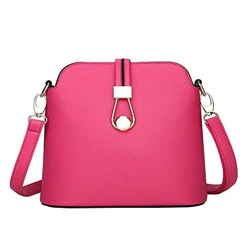YipGrace Ms. Messenger Bag/Sacchetto Di Colore Della Caramella Moda Giapponese E Coreano/Pacchetto Di Shell Mini/Borsa A Tracolla Rose