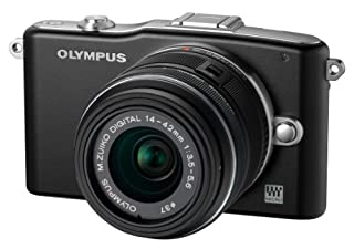Olympus - Olympus E-PM1 Negra con 14-42mm II R Negro (Importado) (B0058GI8F0) | Amazon price tracker / tracking, Amazon price history charts, Amazon price watches, Amazon price drop alerts