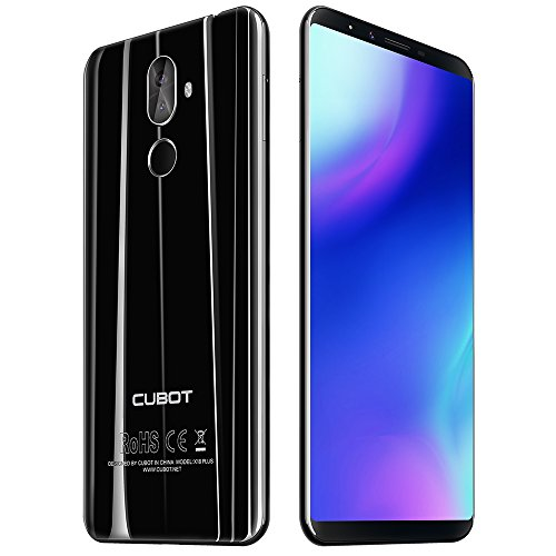 CUBOT X18 Plus - 4G Smartphone 5.99 Pulgadas Android 8.0 MTK6750T 1.5GHz Octa...