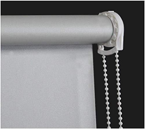 dusg Estores Collection Estor Enrollable Liso Persianas Sombreado Semi Gris 60 × 160CM
