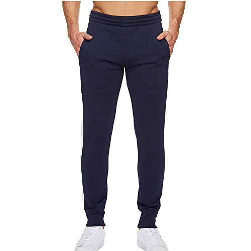Allence Herren Jogginghose Sportshose Trainingshose Jogger Hose Slim Fit Lang Sweatpants Streifen Freizeit Hosen -