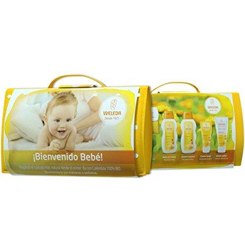 WELEDA Set regalo bienvenido bebe neceser