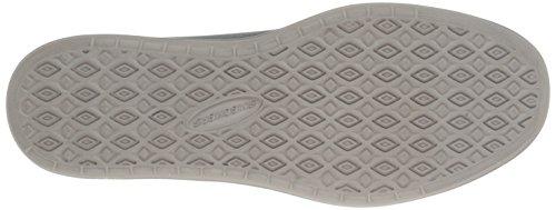 Skechers Definevolkan, Baskets Basses homme Gris - Grau (GRY)