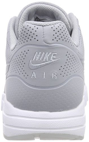 Nike Air Max 1 Ultra Moire, Sneakers basses femmes Grau (Wolf Grey/Wolf Grey-White)
