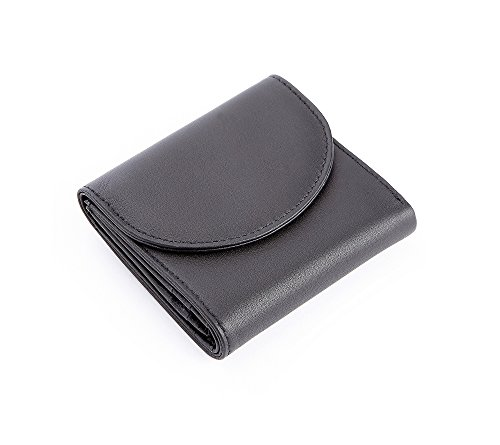 Royce Leather Rfid Blocking Compact Trifold Wallet in Leather