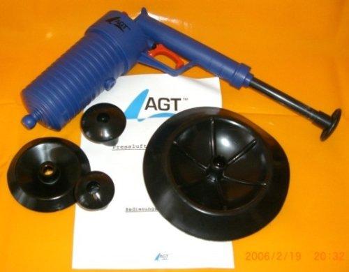 AGT - Scovolino/depuratore ad aria compressa con impugnatura a pistola