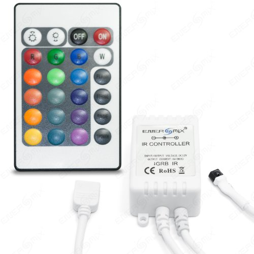 RGB Controller Dimmer Regler mit Fernbedienung für RGB LED Streifen 12V RGB -