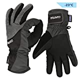 CAMTOA Ski Gloves, Winter Gloves 3M Thinsulate, Snowboard Snowmobile Cold Weather Gloves - Warm/Waterproof/Windproof/Non-slip/Breathable - Warm Hands in Winter Sport Activities for Men&Women XL