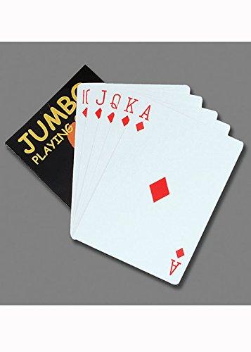 Alice im Wunderland Stil Jumbo Spielkarten