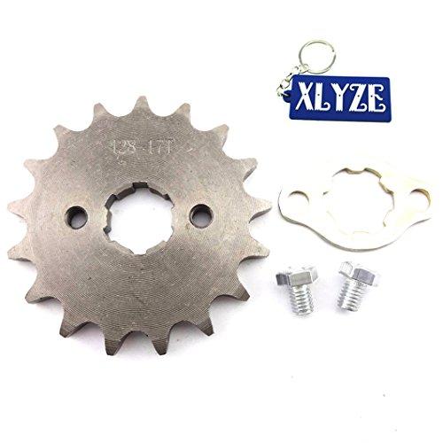 xlyze Front Ritzel 42817Tooth 20mm Getriebe Motor für 50cc 70cc 110cc 125cc 160cc ATV SSR Orion Apollo Pit Dirt Bike