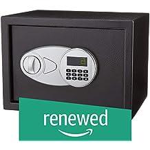 (Renewed) AmazonBasics Steel Security Safe