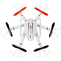 ECLEAR RC Quadcopter Mini Drone 4 Channel 2.4GHz 6-Axis Gyro Helicopter with LED Lights Headless Mode 3D Roll Toys For Adult Kids Aerial Photography Racing - Compare prices on radiocontrollers.eu