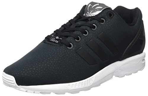 adidas Damen ZX Flux Sneakers, Schwarz (Core Black/Core Black/Silver Metallic), 40 EU