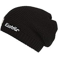 Eisbär Corson OS SP Gorro, otoño/Invierno, Unisex Adulto, Color Negro, tamaño Talla única