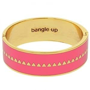 BANGLE UP bracelet jonc laiton Femme Bracelet Bollystud rose corail
