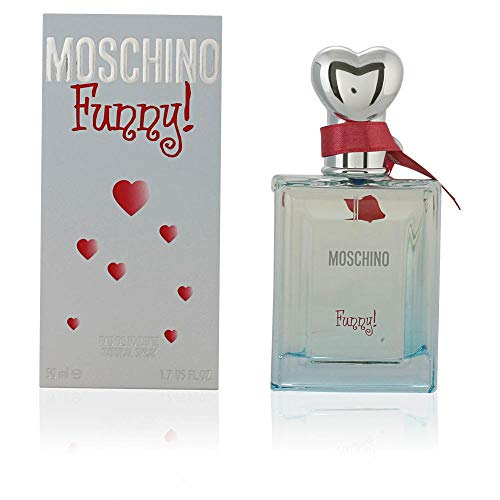 Moschino Funny femme/woman, Eau de Toilette, Vaporisateur/Spray, 1er Pack (1 x 50 ml) -