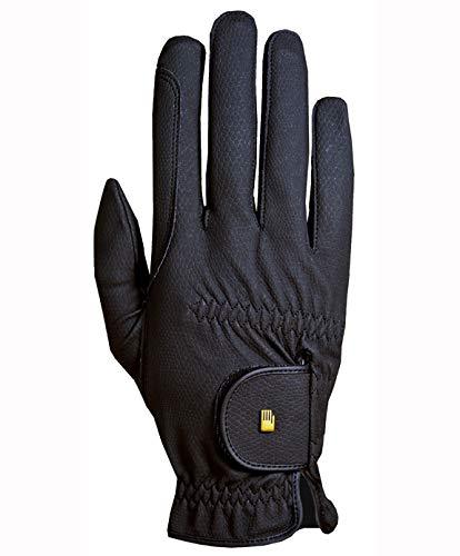 Roeckl -Roeck Grip- Handschuh, Unisex, Reithandschuh, Schwarz, Größe 7