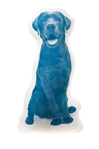 Kissen Fauna mini Labrador petrolblau