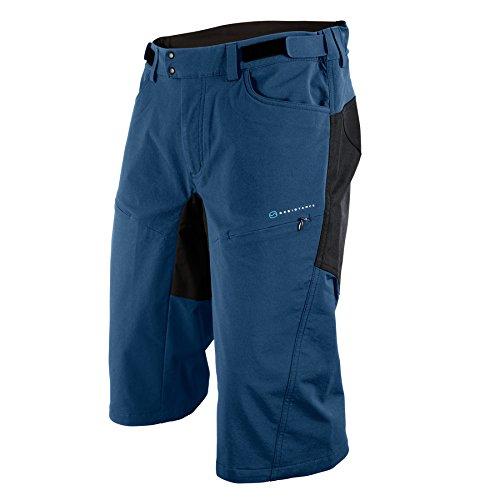 POC Resistance DH Pantalones Cortos Ciclismo, Hombre, Azul (Cubane Blue), S