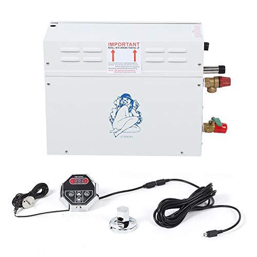 Generador de vapor eléctrico, generador de vapor de sauna eléctrica 6KW TC-135...
