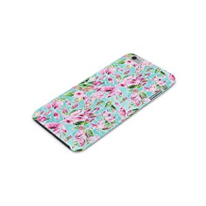Cover Affair Floral/Flowers Printed Designer Slim Light Weight Back Cover Case for Apple iPhone 6 (Blue)