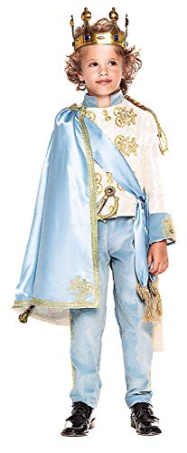KOSTÜM FASCHING KARNEVAL PRINCE OF THE KINGDOM BOY ENCHANTED 7-10 für KARNAVALKOSTÜME fancy dress halloween cosplay veneziano party 28061 Size 8/M
