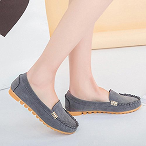 En Large Chaussures Plats Femme Pointure Shoes Mocassins