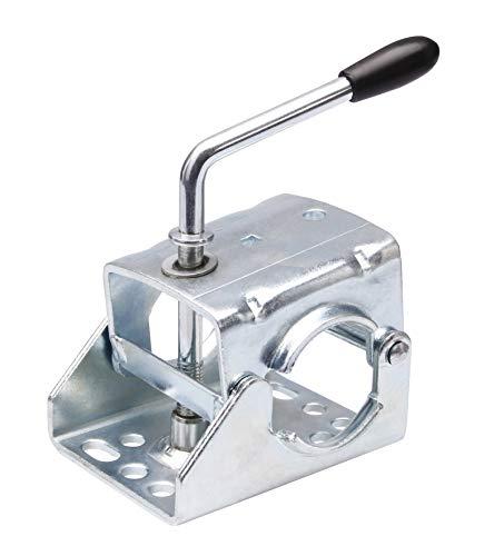 Klemmschelle Klemme für Anhänger Stützrad o. Stützen mit Rohr Ø 60mm Halter