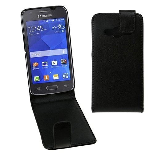 Ace-snap (Schöne Cases & Covers Vertikale Flip Magnetic Snap Leder Tasche für Samsung Galaxy Ace 4 / G313F)