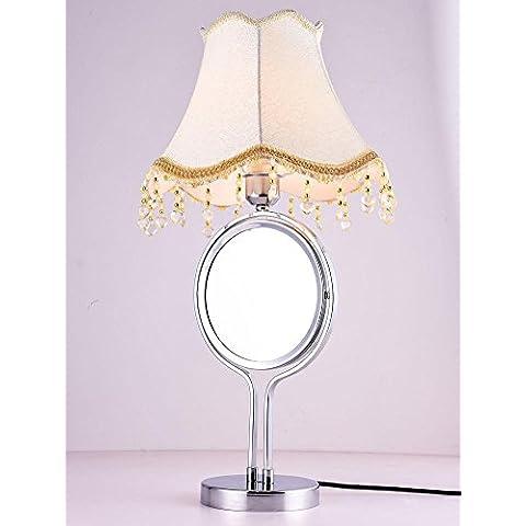 LED tavolo luminoso con specchio illuminazione trucco Mestieri decorativi High-end