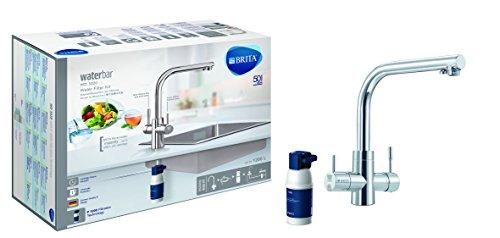 BRITA Armatur mit integriertem Wasserfilter, WD3020, Starterset inklusive Filterkartusche
