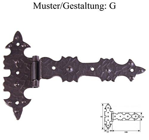 Eisen Scharniere (G) -