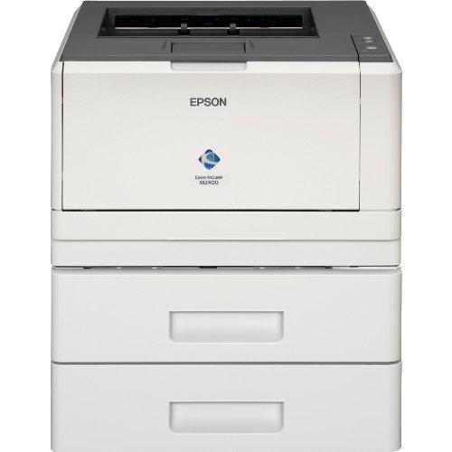 Epson AcuLaser M2400DTN Imprimante N&B recto-verso laser Legal, A4 1200 ppp x 1200 ppp jusqu'à 35 ppm capacité : 550 feuilles USB, 10/100Base-TX