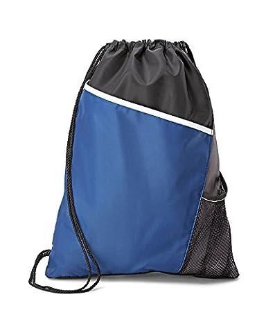 gemline Sac avec cordon de serrage 4976Surge Sport cinchpack - Bleu - Taille Unique