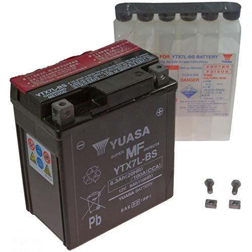 AGM Batterie DERBI GPR 1254T Racing 09–14YUASA YTX7L-BS Dry