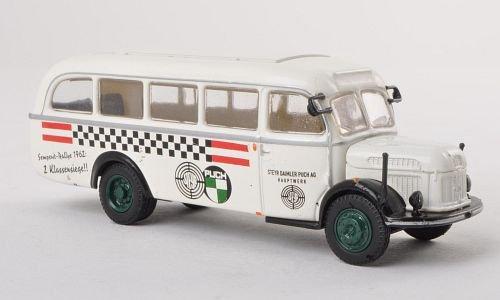 Preisvergleich Produktbild Steyr 380/I Werkstattwagen, Steyr Puch Team , Modellauto, Fertigmodell, Brekina 1:87