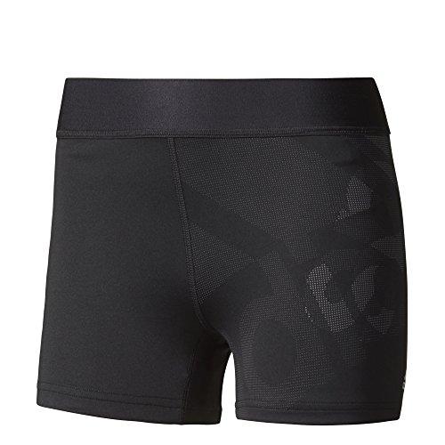 adidas Damen Techfit Shorts Logo Tights, Black, M (Tights Logo Adidas)