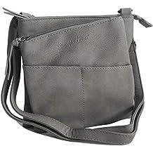 9bc2252bfd852 Jennifer Jones - kleine - schicke Damen Handtasche Clutch Umhängetasche  Abendtasche Ausgehtasche Schultertasche (Farbauswahl)