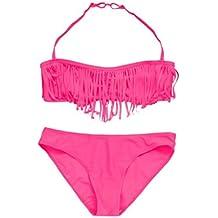 cc8ccab47 Ropa de baño Niña K-Youth® 2018 Verano Niña Natación Borla Conjunto de  Bikini
