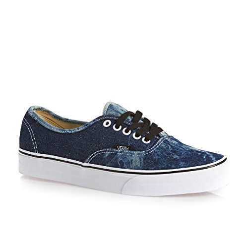 Vans  AUTHENTIC, Sneakers Basses adulte mixte Noir - (acid denim) black/true w
