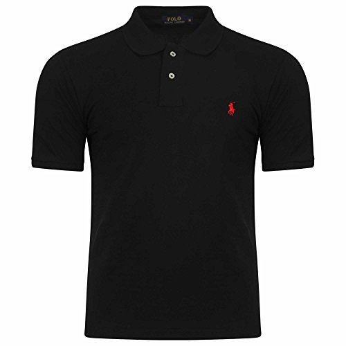 Ralph Lauren Men`s Polo Shirt. Short Sleeve. Small Pony. Custom Fit