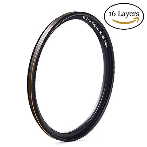 Tokina 20 35 - Filtre UV MC 58mm Filtre ultra fin