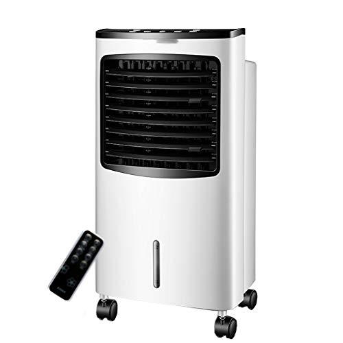 Preisvergleich Produktbild Ventilatoren Ventilator Portable Luftkühler High Power 3 Lüfter Geschwindigkeiten mit Leiser Betrieb Fernbedienung Ideal für Haus und Büro Weiß