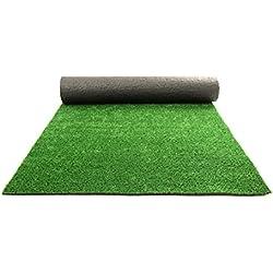 Intermas Art - Césped artificial, 100 x 20 x 20 cm, color verde