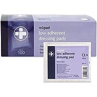 Reliance Medical steril Relipad Wundkompresse niedrig sich Dressing Pads, 5cm Länge x 5cm Breite Box von 100 preisvergleich bei billige-tabletten.eu