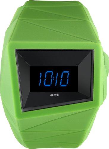 Alessi Mixte AL22002 Vert Digitale Sport Montre