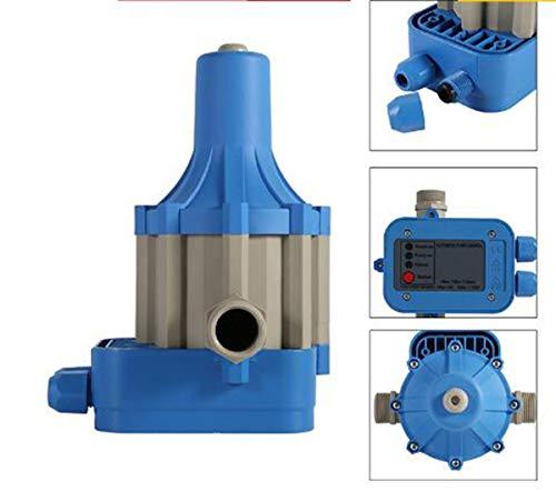 enoche Controlador de presión Bomba de Agua Regulador de presión para electrobomba presscontrol presostato domestica con Gauge casa Accesorio(220 V)