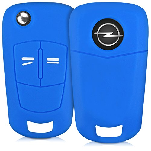 kwmobile-silicone-cover-for-opel-2-button-car-key-key-protection-cover-etui-key-case-cover-in-blue